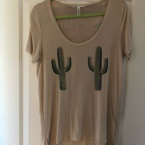 Victoria secret cactus tee ! Never worn